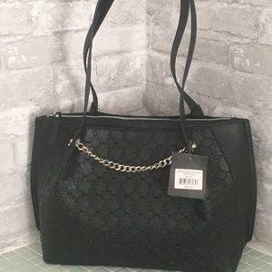Nanette Lepore Tatum Embossed Signature Bag
